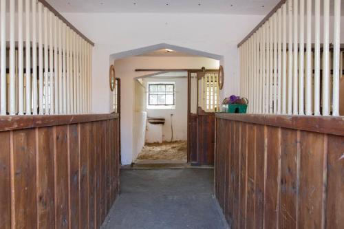 Vstupní hala nebo recepce v ubytování Penzion Štekrův Mlýn