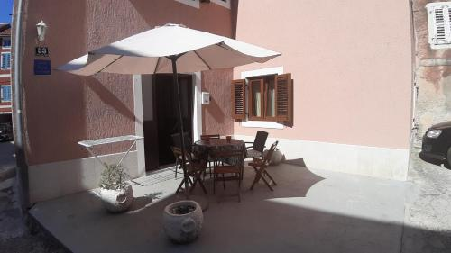 A patio or other outdoor area at Apartment Nostra Casa Orsera