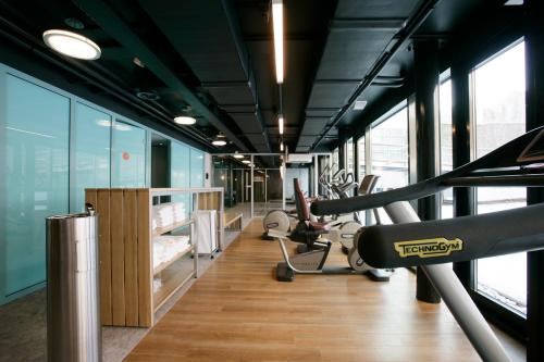 The fitness center and/or fitness facilities at Hotel Papendal