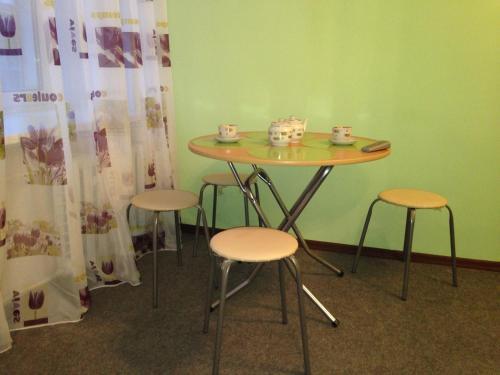 Гостиная зона в Apartments 7-aya Krasnoarmeyskaya