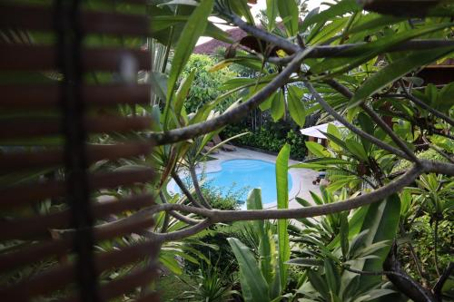 A view of the pool at Pondok Agung Bed & Breakfast or nearby