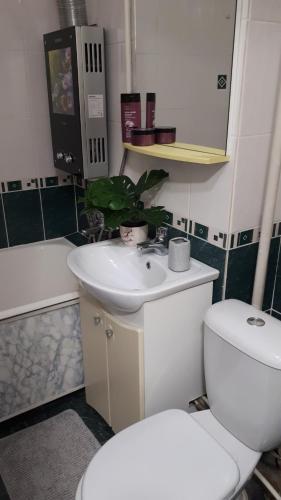 A bathroom at Apartment on Lenina