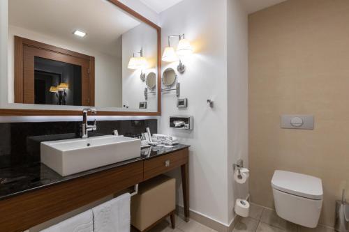 Ванная комната в Отель Имеретинский