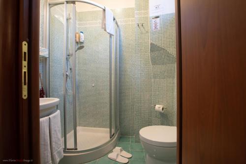 Um banheiro em Hotel Centro Cavour Roma