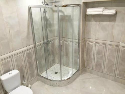 A bathroom at Mini-hotel Barskiy