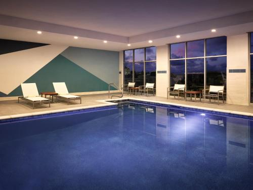 The swimming pool at or near Hyatt Place Amarillo-West