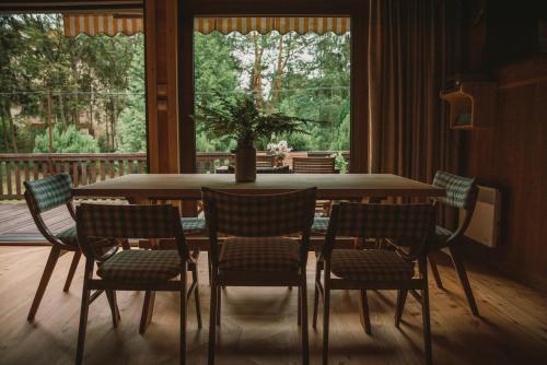 Jadalnia w domu wakacyjnym
