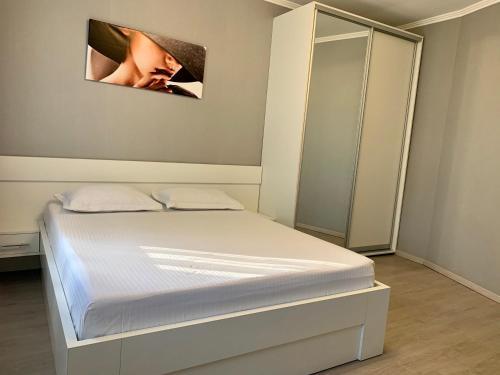 Ліжко або ліжка в номері Мини-гостиница Три Коня