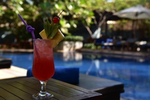 Piscina en o cerca de Amber Angkor Villa Hotel & Spa