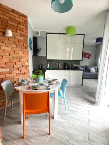 A kitchen or kitchenette at Ariel