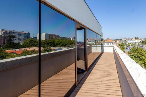 A balcony or terrace at Sea Porto Hotel