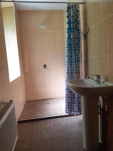 A bathroom at Summer hostel Kaija