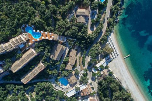 A bird's-eye view of San Antonio Corfu Resort (Adults Only)