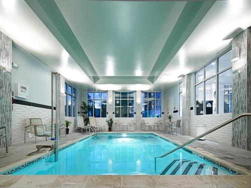 The swimming pool at or near Fairfield Inn & Suites by Marriott Boston Logan Airport/Chelsea