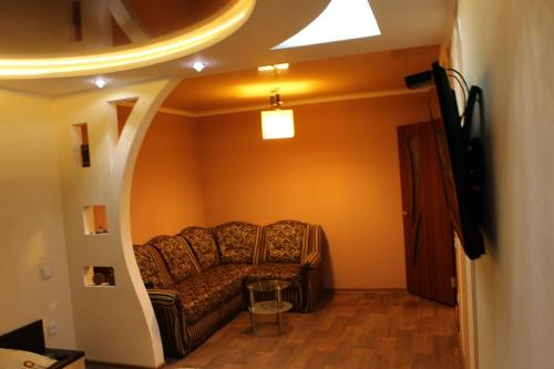 A seating area at Comfortable Apartments