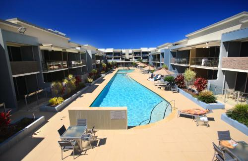 A view of the pool at Ramada by Wyndham Hervey Bay or nearby