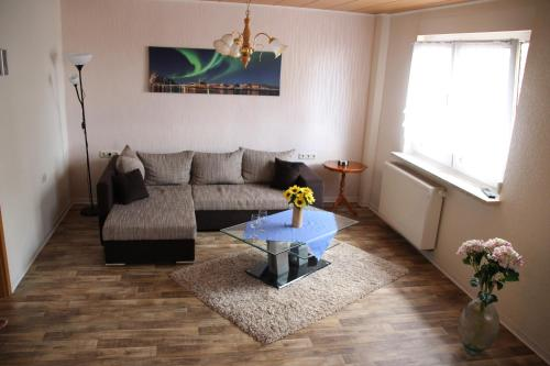 "A seating area at Landhaus ""Zum Frosch"""