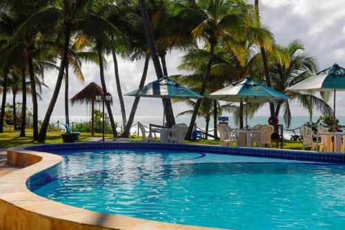 A piscina localizada em Pousada Ecoporto ou nos arredores