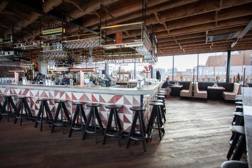 The lounge or bar area at The Dean Dublin