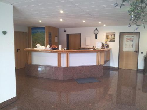 The lobby or reception area at Löwen Hotel Arian