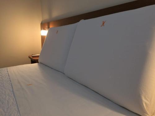 Cama ou camas em um quarto em Hotel Cathedral