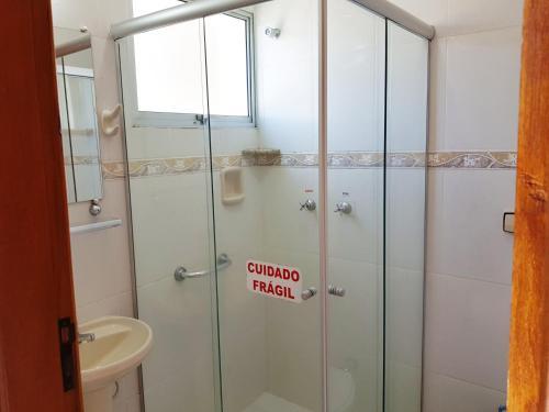 Um banheiro em Hotel Cathedral