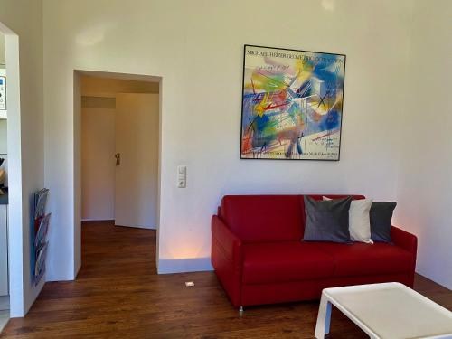 A seating area at Chez Coco Apartment 2 Aachen