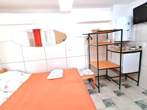 Kuchyňa alebo kuchynka v ubytovaní Kosta House