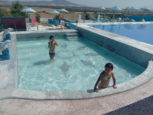 Children staying at Maliana Star