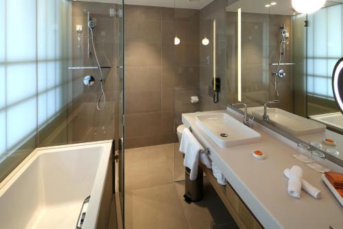 A bathroom at D-Resort Šibenik