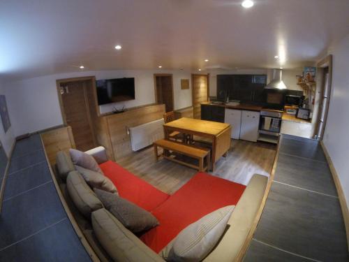 Area soggiorno di Chamonix Lodge