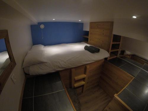 Letto o letti in una camera di Chamonix Lodge