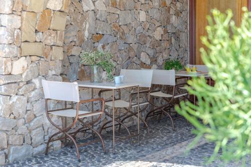Terrasse ou espace extérieur de l'établissement Epavlis Hotel & Spa