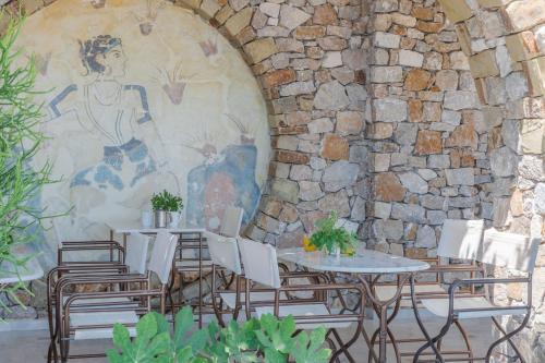 Restaurant ou autre lieu de restauration dans l'établissement Epavlis Hotel & Spa