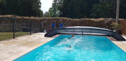 The swimming pool at or near La Bergerie