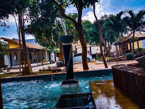 The swimming pool at or close to Villetta House Syariah