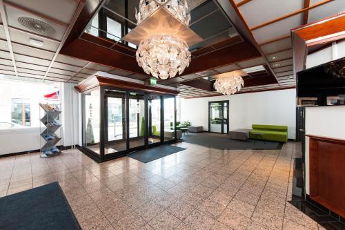 Lobby eller resepsjon på Victoria Hotel Hamar