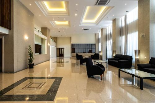 The lobby or reception area at Castellum Suites - All Inclusive