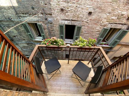 A balcony or terrace at Hotel S. Ercolano
