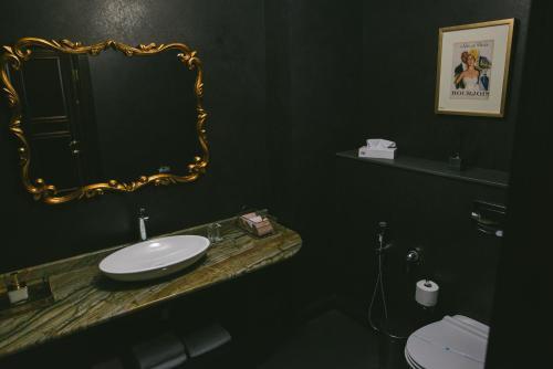 Ванная комната в Отель Алтай Пэлас