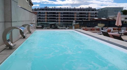 Der Swimmingpool an oder in der Nähe von Zenit Convento San Martin