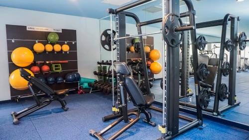The fitness center and/or fitness facilities at Margaritaville Resort Orlando