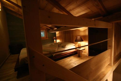 Un ou plusieurs lits superposés dans un hébergement de l'établissement Domaine des Brouilles