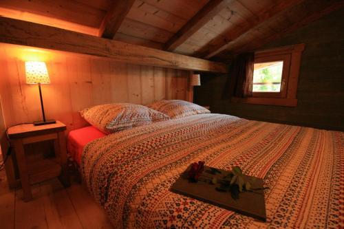 Un ou plusieurs lits dans un hébergement de l'établissement Domaine des Brouilles