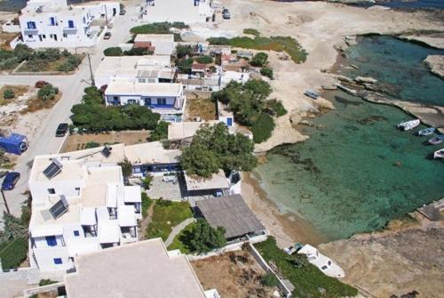 A bird's-eye view of Soultana Rooms & Studios
