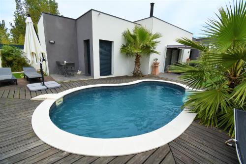 Vacances plage piscine privée