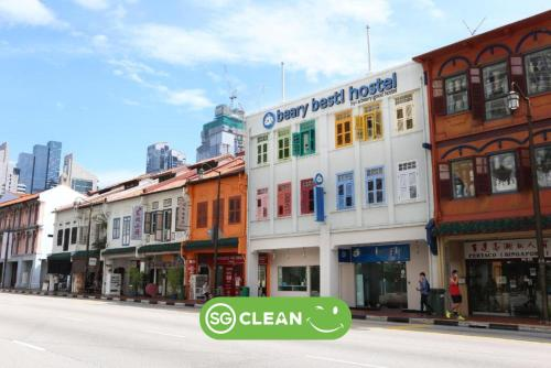 Beary Best! Chinatown by a beary good hostel (SG Clean)