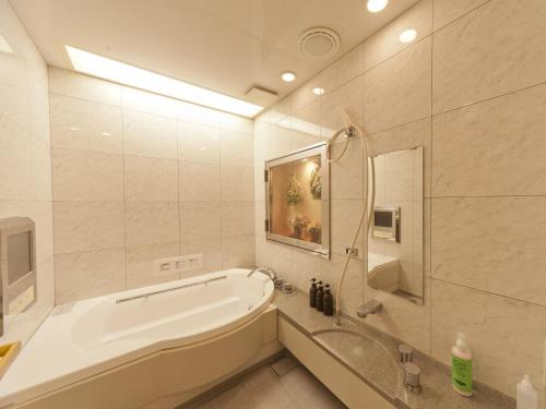 A bathroom at Hotel Fine Garden Juso (Adult Only)