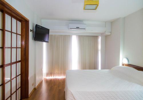 A room at Hotel Nikko