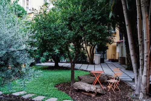 Patio o area all'aperto di NAP Hostel Spaccanapoli